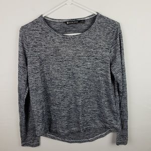 Athleta Top Pullover Knit High Low #666